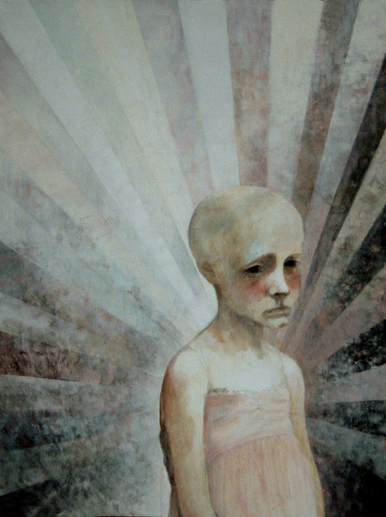 "11 ""Baletnica"" Akryl, 97x130cm, 2009"
