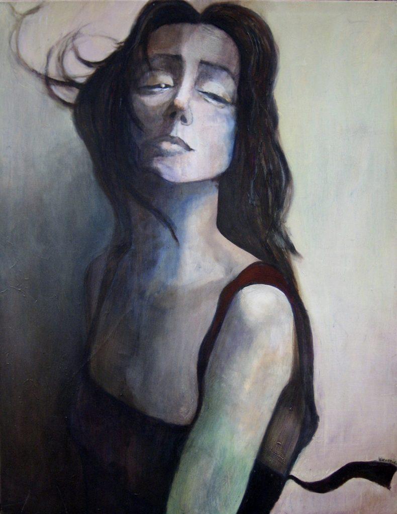 """7 """"Wenus"""" Akryl, 100x130cm, 2004"""